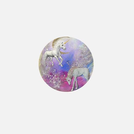 Unicorn Fantasy Sky Mini Button