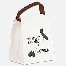 whateverhappeneddark Canvas Lunch Bag