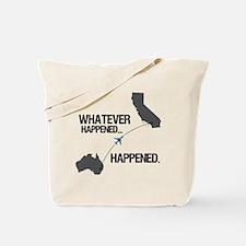 whateverhappeneddark Tote Bag