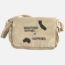 whateverhappeneddark Messenger Bag