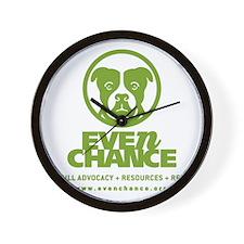 EC_Green_Logo Wall Clock