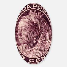 canada-qv-maple-10d Sticker (Oval)