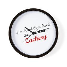 In Love with Zachery Wall Clock