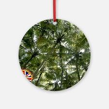 DGSMousepad2500-palmsup1.gif Round Ornament