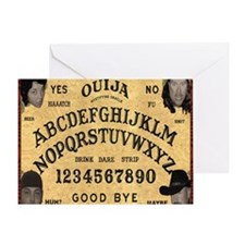 ouija_mousepad Greeting Card