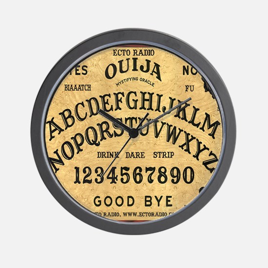ouija_mousepad Wall Clock
