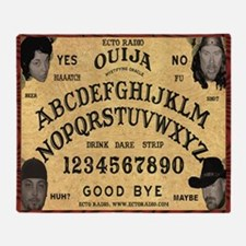 ouija_mousepad Throw Blanket