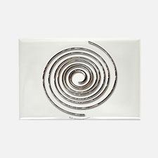Spiral Rectangle Magnet