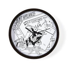 3-7730_business_cartoon Wall Clock