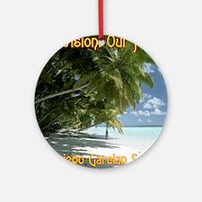 LGSquare-OurVisionOurHope.gif Round Ornament