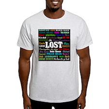 LOSTcollagebutton T-Shirt