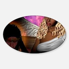 Jesus 11_200 Sticker (Oval)