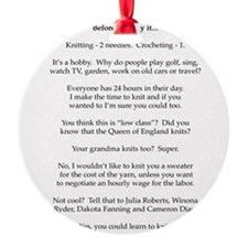2-Before you say it Ornament