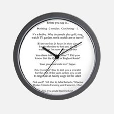 2-Before you say it Wall Clock