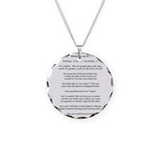 2-Before you say it Necklace