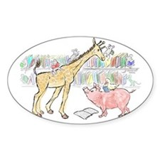 giraffe pig link Decal