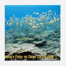 NoteCard-yellowfish.gif Tile Coaster