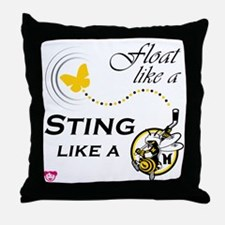 float like a Throw Pillow