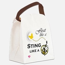 float like a Canvas Lunch Bag