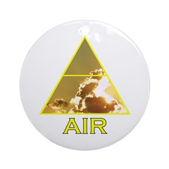 Air Element Ornament (Round)