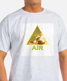 Air Element Ash Grey T-Shirt