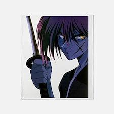 Kenshin Front Throw Blanket