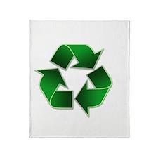 2-recycle-congress-040504 Throw Blanket
