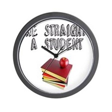 Stright A sTUDENT Wall Clock