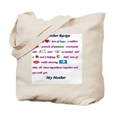 mother recipyJP_tile Tote Bag