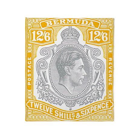 bermuda-kgv-12s6d Throw Blanket