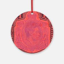 bermuda-kgv-Pound Round Ornament
