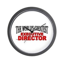 """""""The World's Greatest Executive Director"""" Wall Clo"""
