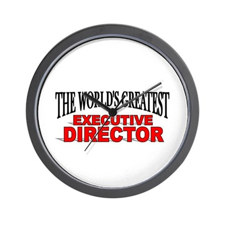 """The World's Greatest Executive Director"" Wall Clo"