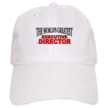 """The World's Greatest Executive Director"" Cap"
