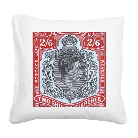 bermuda-kgv-2s6d Square Canvas Pillow