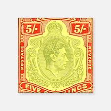 """bermuda-kgv-5s Square Sticker 3"""" x 3"""""""