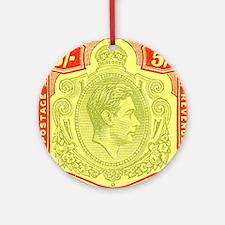 bermuda-kgv-5s Round Ornament