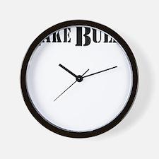 lake bully 4 white Wall Clock