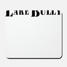 lake bully 4 white Mousepad
