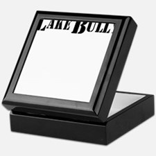 lake bully 4 white Keepsake Box