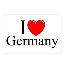 """""""I Love Germany"""" Postcards (Package of 8)"""
