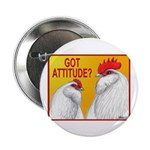 "Got Attitude? 2.25"" Button (100 pack)"