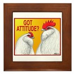 Got Attitude? Framed Tile
