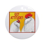 Got Attitude? Ornament (Round)