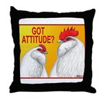 Got Attitude? Throw Pillow