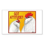 Got Attitude? Rectangle Sticker