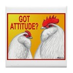 Got Attitude? Tile Coaster