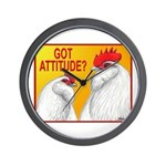 Got Attitude? Wall Clock