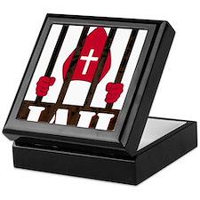 pope logo rust 2 Keepsake Box