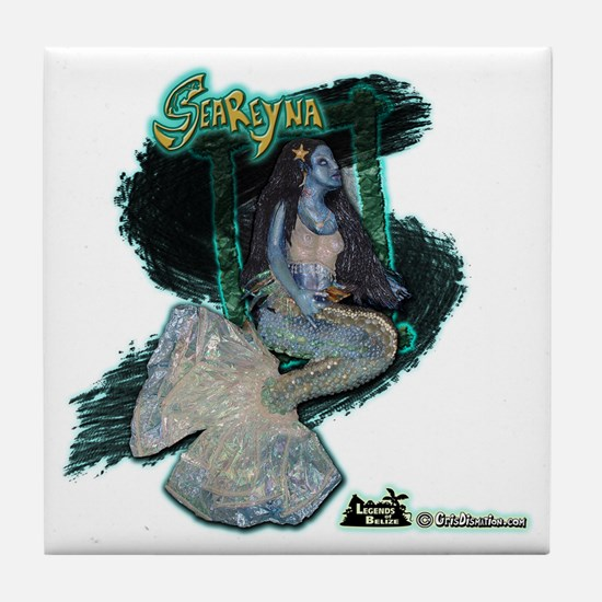 006 SeaReyna Design Tile Coaster